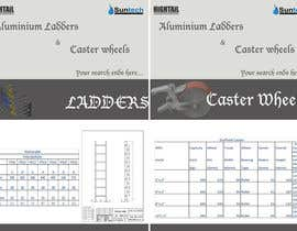 #4 for Design a Two Page Brochure for HIGHTAIL Ladders & Casters af amudhaeswari
