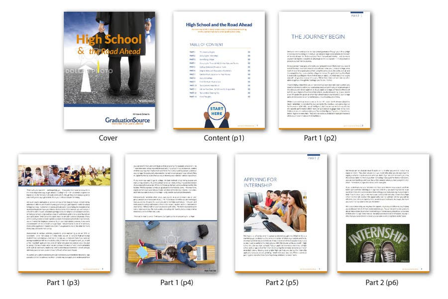 Entry #6 by Lelaku for Design an eBook Template in Indesign - Then ...