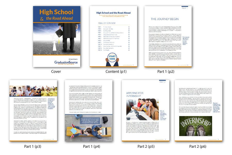 Entry 31 By Lelaku For Design An Ebook Template In Indesign