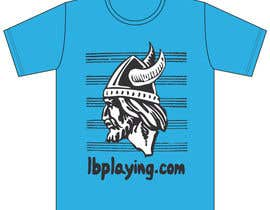 #7 for Design a T-Shirt for LBplaying af Meximilian