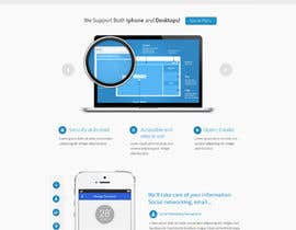 #28 for Create a landing page for neoEYED by Bkreative