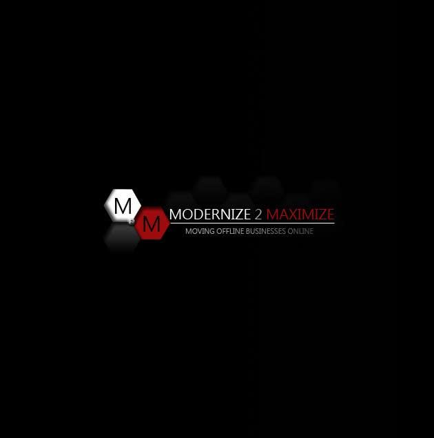 Konkurrenceindlæg #34 for Design a Logo for Modernize 2 Maximize