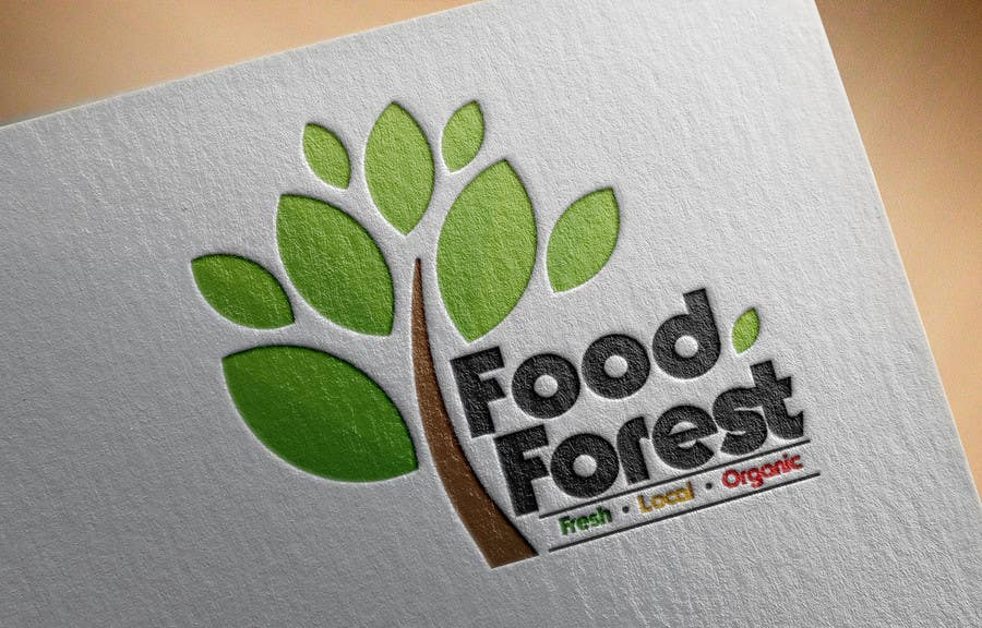 entry 218 by vw7613939vw for food forest logo freelancer