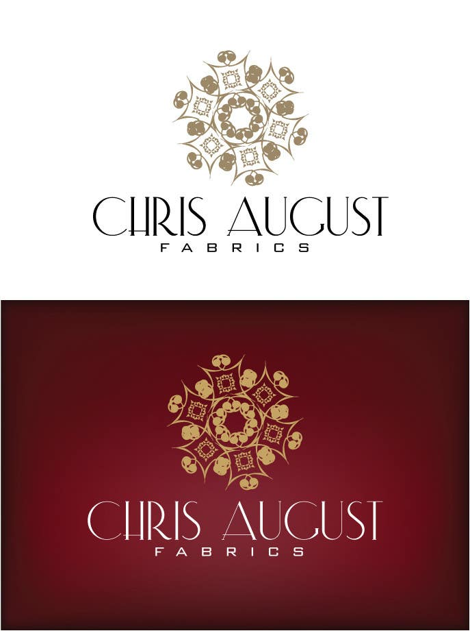 #203 for Logo Design for Chris August Fabrics by jaqueline