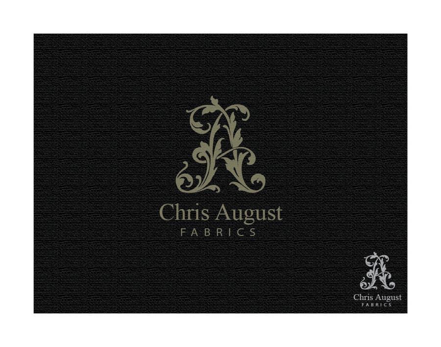 #126 for Logo Design for Chris August Fabrics by bcendet