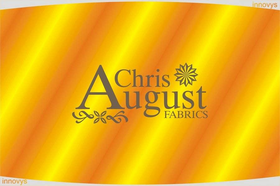 #160 for Logo Design for Chris August Fabrics by innovys