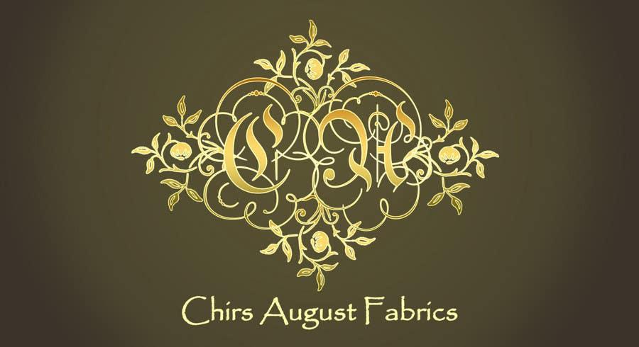 Entri Kontes #421 untukLogo Design for Chris August Fabrics