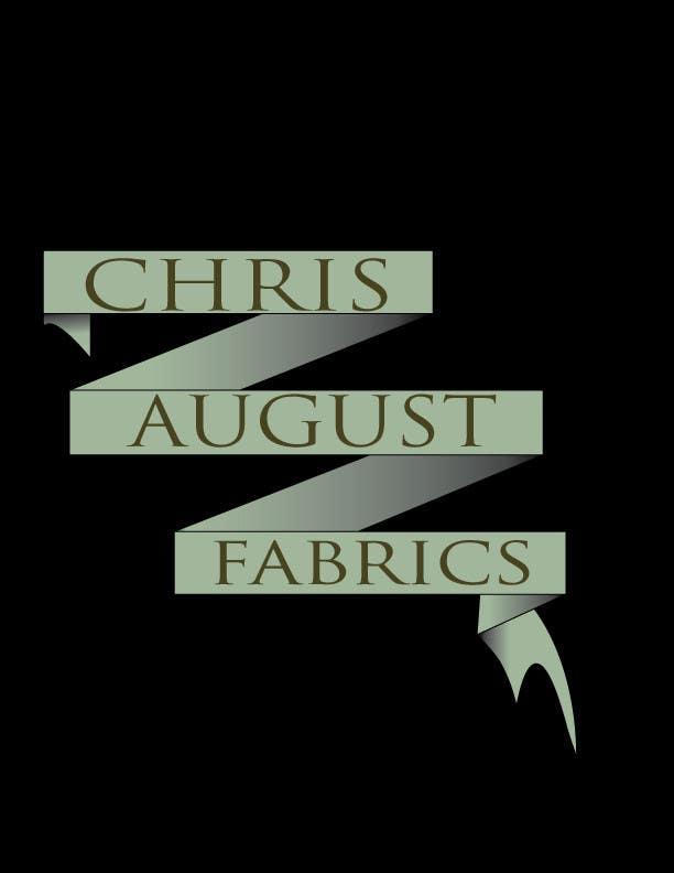 Entri Kontes #449 untukLogo Design for Chris August Fabrics