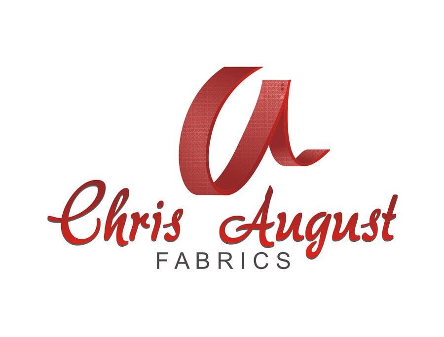 Contest Entry #                                        532                                      for                                         Logo Design for Chris August Fabrics