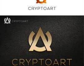 nº 43 pour Design a logo for CRYPTOART par sbelogd