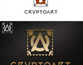 #57 for Design a logo for CRYPTOART by sbelogd