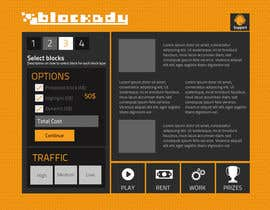 nº 25 pour Design the Look and feel for Blockady website par chithrarahul