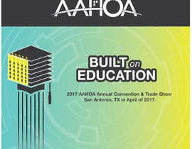 #44 para Create a Theme and Logo for the 2017 AAHOA Convention por lidesigns2013