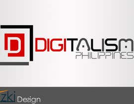 #115 for Design a logo for digitalism.ph by amzki