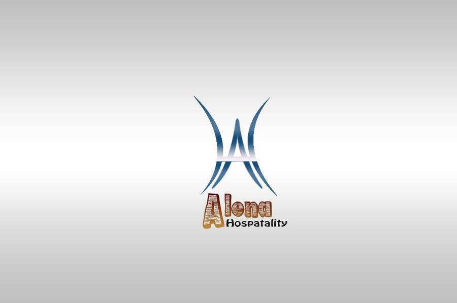 Bài tham dự cuộc thi #                                        44                                      cho                                         Design a Logo for Alena Hospitality.