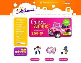 #10 for Custom Oscommerce Template - Jubilane Website Design by MagentoStudio