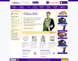 #19 для Custom Oscommerce Template - Jubilane Website Design от tuanrobo