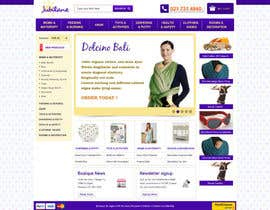 nº 18 pour Custom Oscommerce Template - Jubilane Website Design par tuanrobo