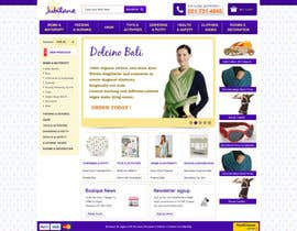 #14 for Custom Oscommerce Template - Jubilane Website Design by tuanrobo