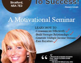 #15 for Design a Flyer for a motivational seminar/workshop af GreenworksInc