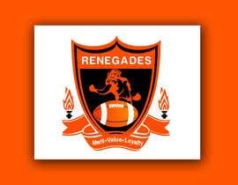 Nro 24 kilpailuun American Football Team Logo käyttäjältä A1Designz
