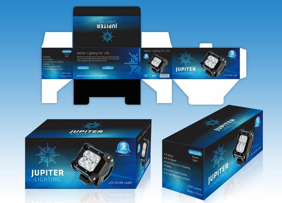 Penyertaan Peraduan #5 untuk Jupiter Display Box design