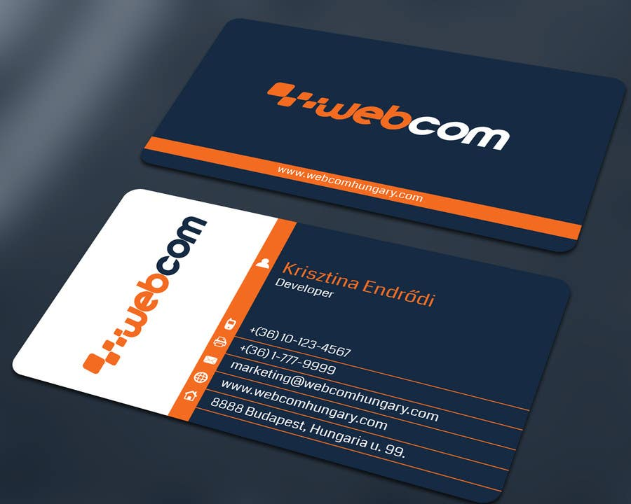 Design Some Business Cards For A Software Company Freelancer