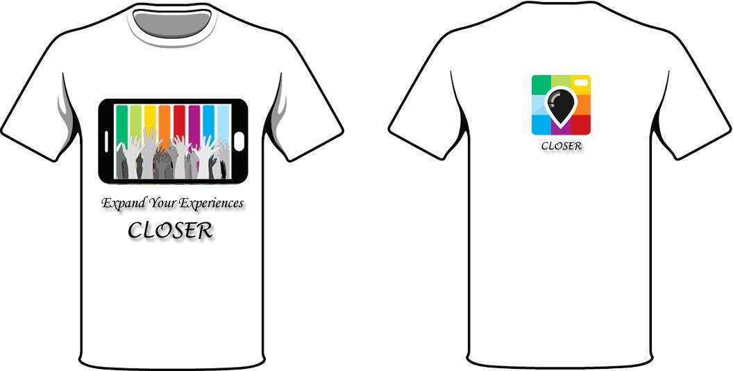 #55 untuk Design a T-Shirt for a photography social network. oleh freehon