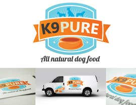 #155 untuk Graphic Design / Logo design for K9 Pure, a healthy alternative to store bought dog food. oleh marcoartdesign