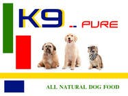Graphic Design Contest Entry #171 for Graphic Design / Logo design for K9 Pure, a healthy alternative to store bought dog food.