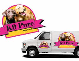 #76 untuk Graphic Design / Logo design for K9 Pure, a healthy alternative to store bought dog food. oleh ampitor