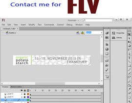 #2 para Adobe Flash Banner, 4 layers. Customize and create animated fla. por jamshaidrazaCG