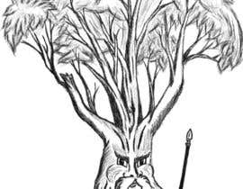 #35 para Draw an Ash Tree with character por Simo23