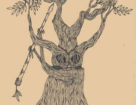 #36 para Draw an Ash Tree with character por fitrapratama