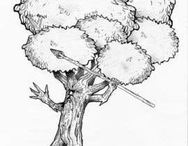 #38 para Draw an Ash Tree with character por KALAUDIO2