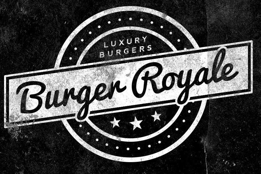 Kilpailutyö #40 kilpailussa Design a Logo for Luxury Modern Burger Bar