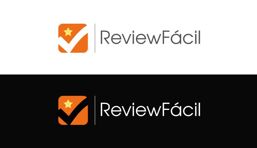 #4 for Design a Logo for ReviewFácil (in english means, ReviewEasy) by Naumaan