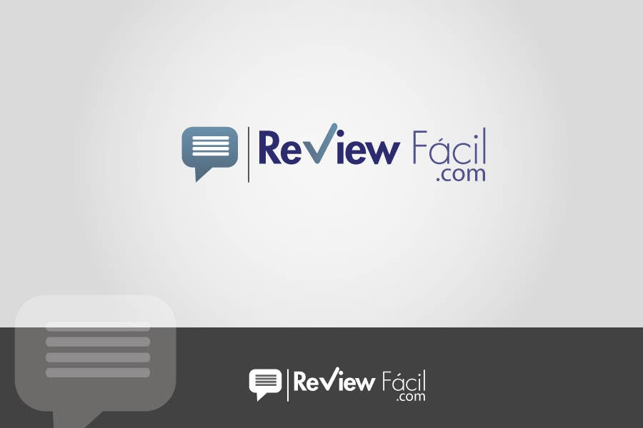 #29 for Design a Logo for ReviewFácil (in english means, ReviewEasy) by Naumaan
