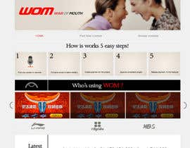 tzena tarafından Restyle WOM landing page. Winner will be hired to restyle the whole website için no 11