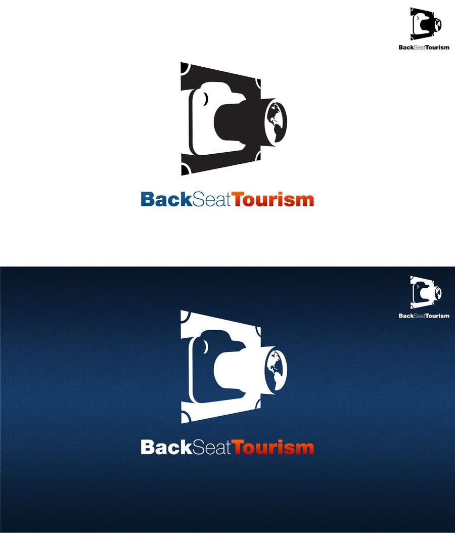 """#76 for Design a Logo for """"Back Seat Tourism"""" **Updated by HallidayBooks"""