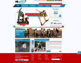 nº 6 pour Build a new Website for Goskate.com par ProliSoft