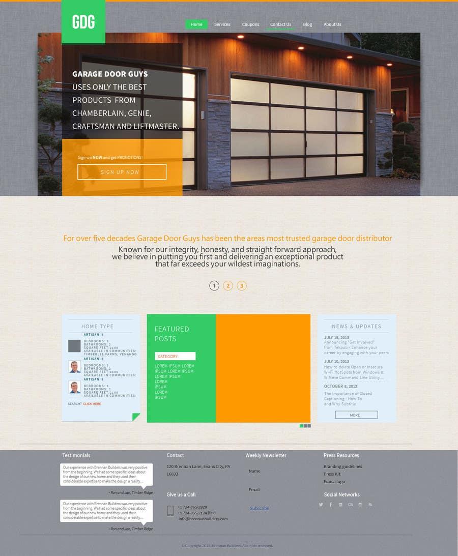Create A Wordpress Template For Garage Door Guys