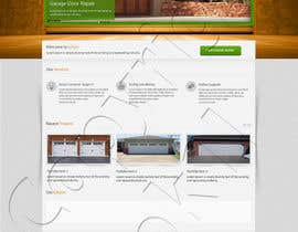#7 for Create a Wordpress Template for Garage Door Guys responsive website af kpk1l