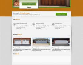 #18 for Create a Wordpress Template for Garage Door Guys responsive website af kpk1l
