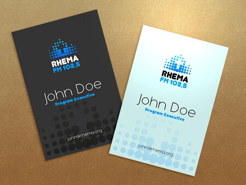 Inscrição nº 280 do Concurso para Logo Design for Rhema FM 103.5