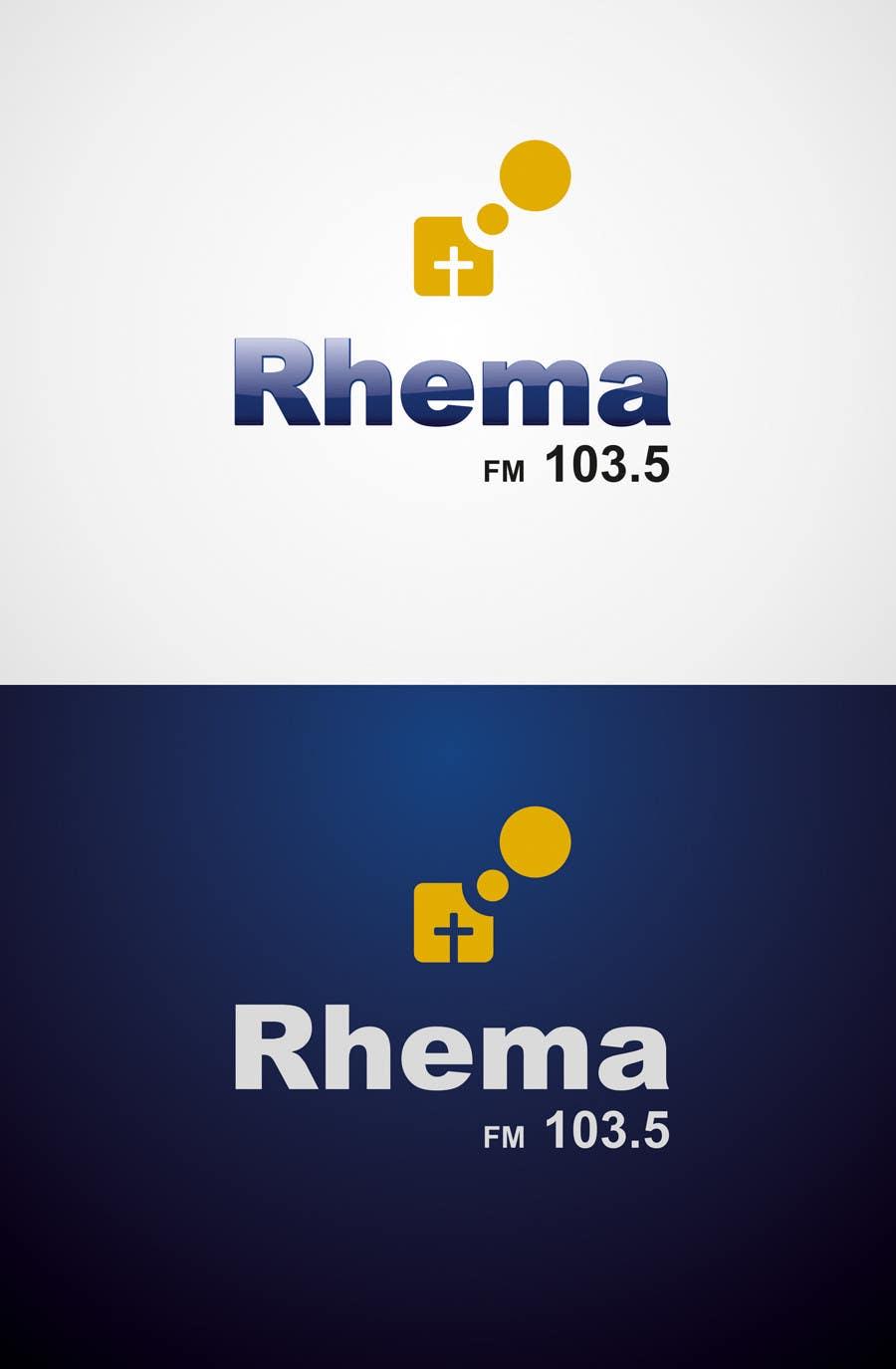 Inscrição nº 331 do Concurso para Logo Design for Rhema FM 103.5