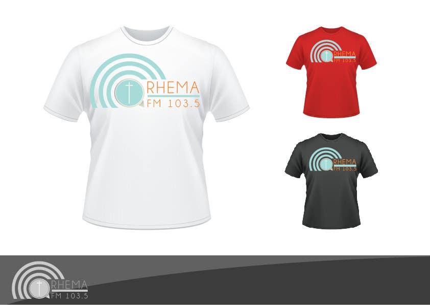 Inscrição nº 369 do Concurso para Logo Design for Rhema FM 103.5