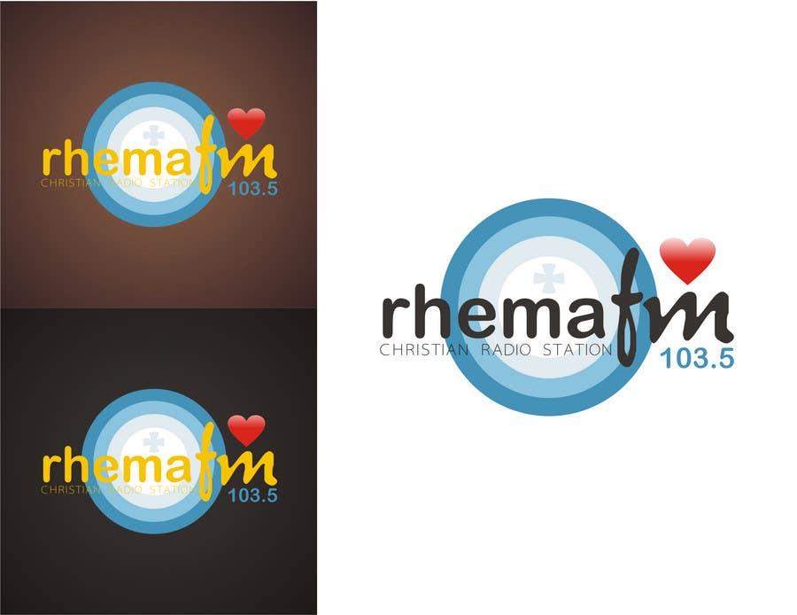 Inscrição nº 287 do Concurso para Logo Design for Rhema FM 103.5