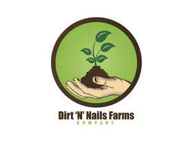 nº 76 pour Design a Logo for Dirt 'N' Nails Farms company par rimskik