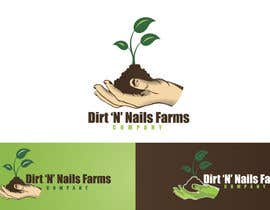 #78 for Design a Logo for Dirt 'N' Nails Farms company by rimskik